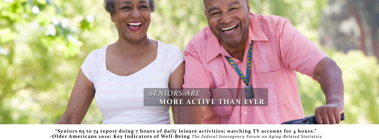 Seniors are more active than ever